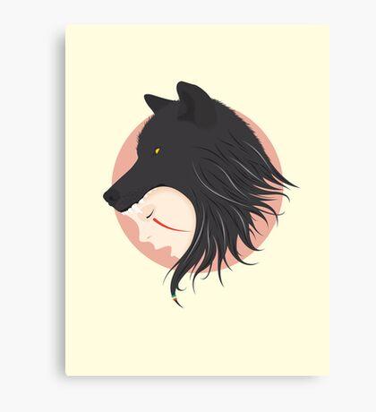 Boy Cries Wolf Canvas Print