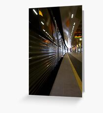Train 12 03 13 - Two Greeting Card