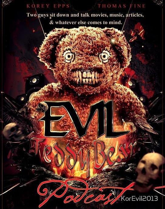 The Evil TeddyBear Logo by KorEvil2013