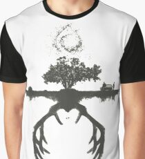 A Tribute to True Detective Graphic T-Shirt