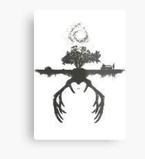 A Tribute to True Detective Metal Print