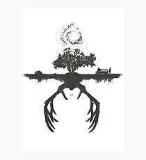 A Tribute to True Detective Photographic Print