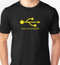 I HAVE LOST MY MEMORY Unisex T-Shirt