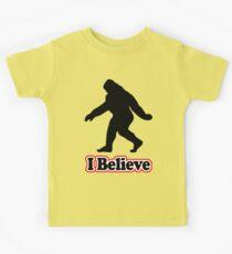 Sasquatch Big Foot T-Shirt Kids Clothes