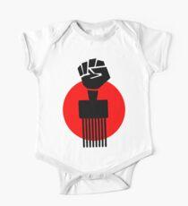 Black Fist Power T-Shirt Kids Clothes