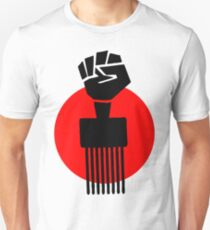Black Fist Power T-Shirt Unisex T-Shirt