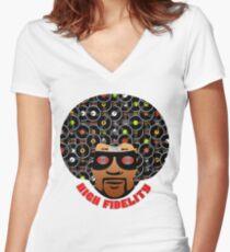 High Fidelity T-Shirt Women's Fitted V-Neck T-Shirt
