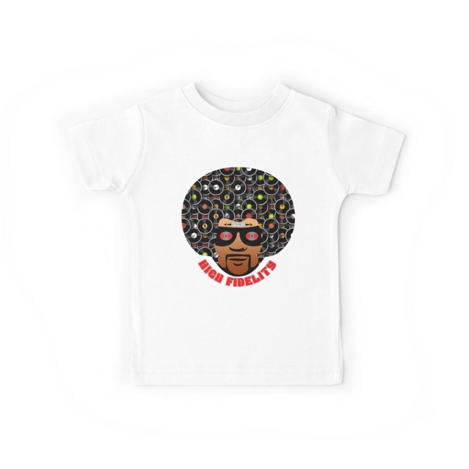 High Fidelity T-Shirt by retrorebirth