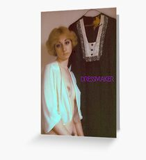 Dressmaker Greeting Card