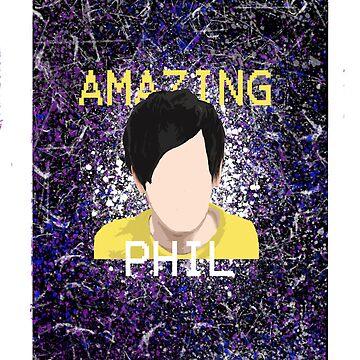 Amazing Phil Iphone case by fandomchic