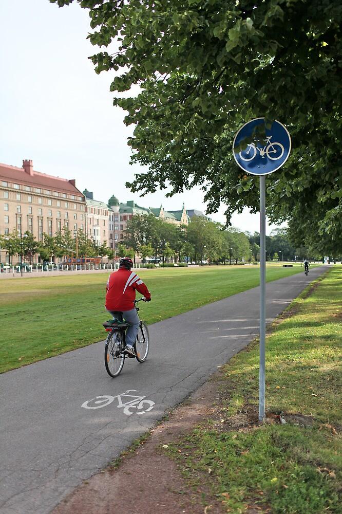 Riding Bike by mrivserg