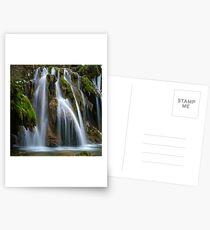 The Tufs waterfall Postcards