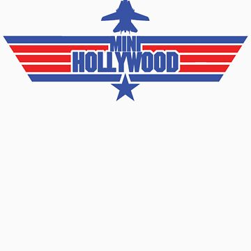 Custom Top Gun Style - Mini Hollywood 2 by CallsignShirts