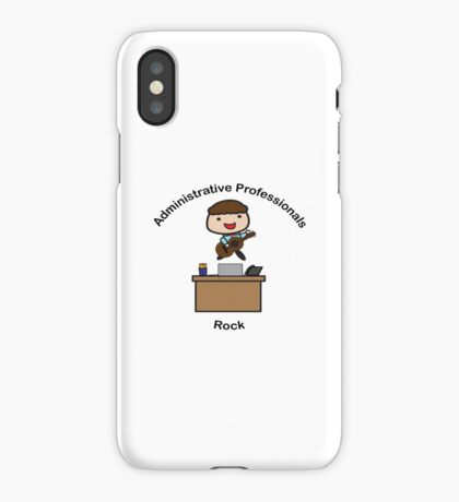 Administrative Professionals Rock (Male) iPhone Case/Skin