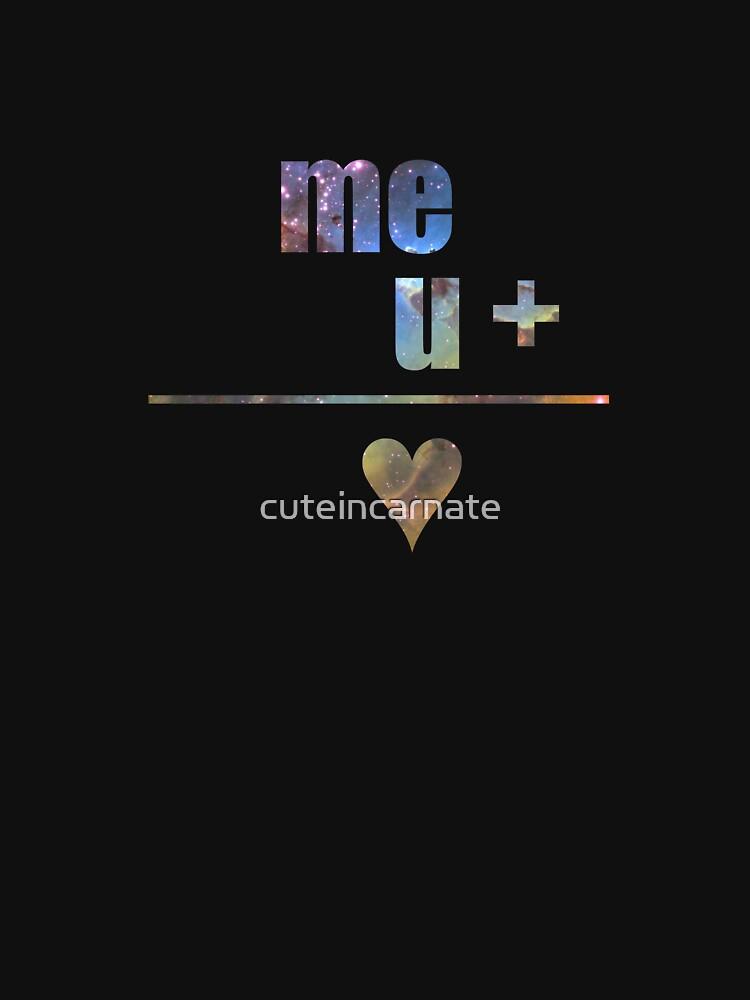 me + u = heart by cuteincarnate