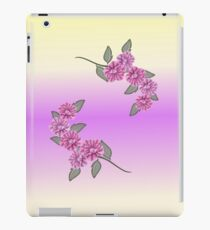 Light Purple Ribbon Pansies Ipad Cae iPad Case/Skin