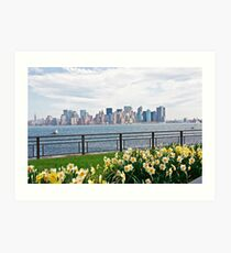 Springtime in New York Art Print