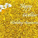 Happy Golden Wedding Anniversary by Linda Miller Gesualdo