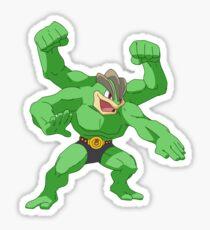 Hulk Machamp Sticker