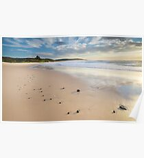 Catherine Hill Bay Beach Poster