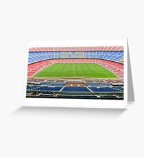 Tarjeta de felicitación Camp Nou (FC Barca)