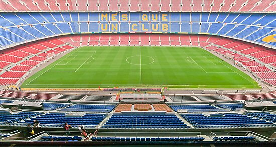 Camp Nou (FC Barca) by Stephen Knowles