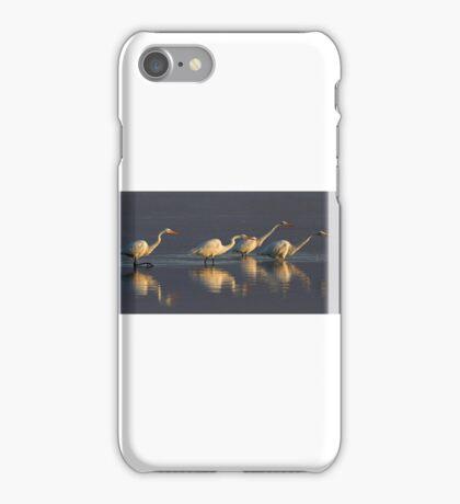 Fishing - Great Egrets iPhone Case/Skin
