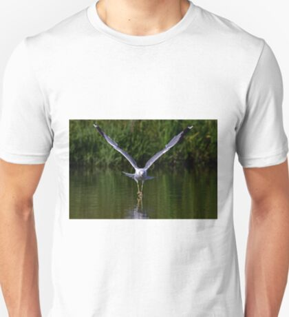 Seagull walks on water T-Shirt