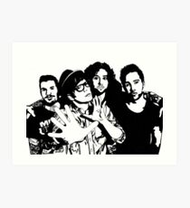 Fall Out Boy Drawing Art Prints Redbubble