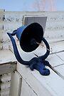 Blue Bull Bell & Ball by Arla M. Ruggles