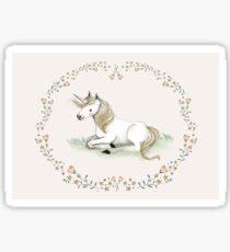 Unicorn,  Nursery art - Nursery decor - Kids room decor - Children's art Sticker
