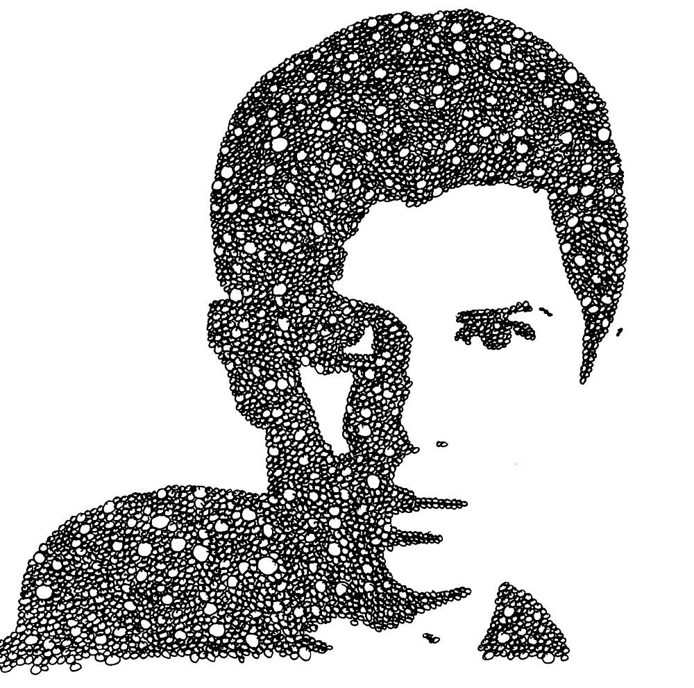 George Watsky Bubble Portrait by RaffttaM