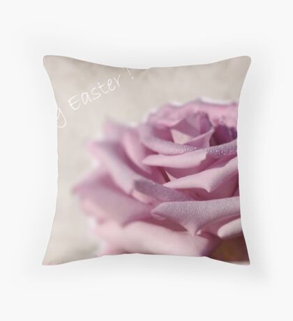 HAPPY EASTER ! Throw Pillow