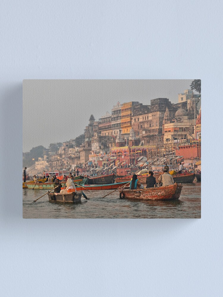 Alternate view of Varanasi Canvas Print