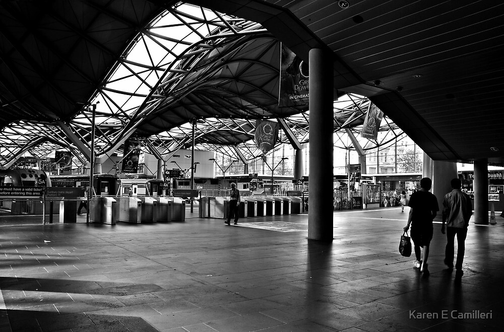 Southern Cross Station by Karen E Camilleri