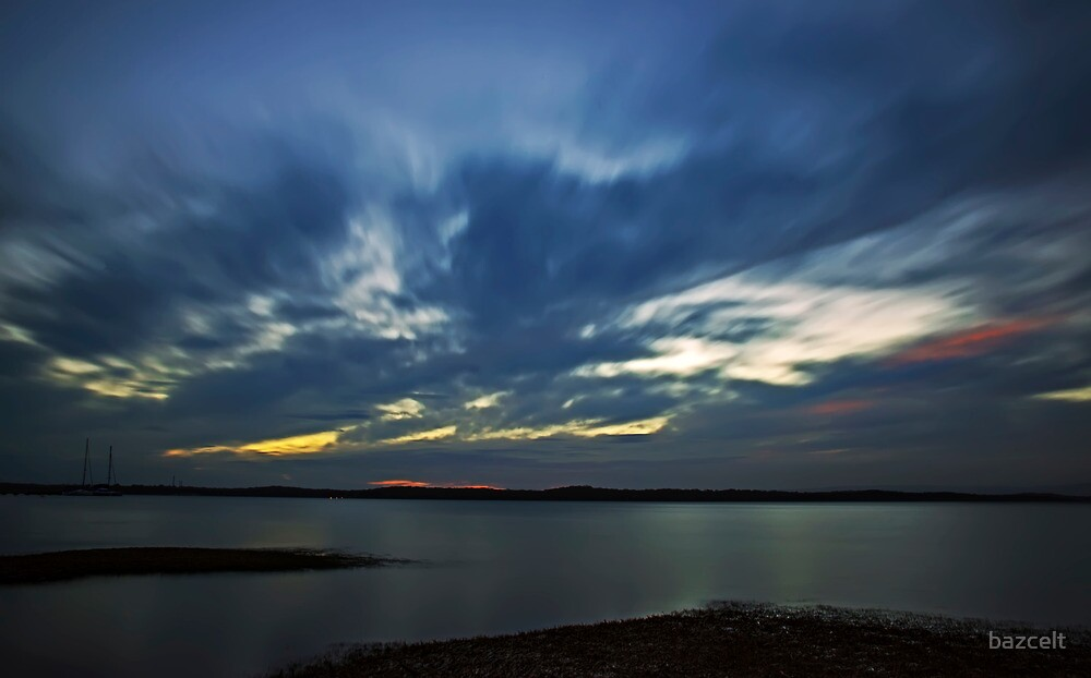 As Night Rushes In by bazcelt