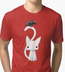 Cat and Raven Tri-blend T-Shirt