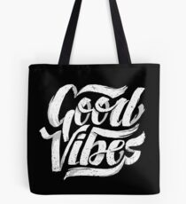 Good Vibes - Feel Good T-Shirt Design Tote Bag
