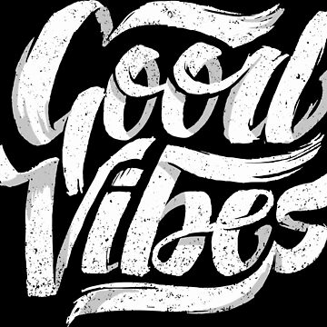 Good Vibes - Feel Good T-Shirt Design by sebastianst