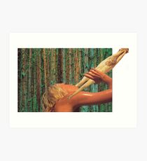 M Blackwell - Nothing Refreshes Like The Leg of Christ Art Print