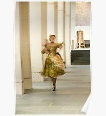 Impressionist walk Poster