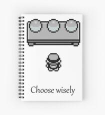 Pokemon - The choice Spiral Notebook