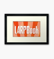 LARPBook Word Framed Print