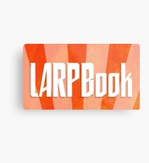 LARPBook Word Metal Print