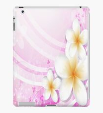 White and Pink Flowers iPad Case iPad Case/Skin