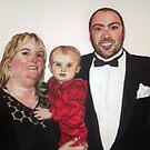 Chris, Karen and Olivia by Jenny Hudson (Sumner)