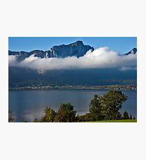 Lake Mondsee Photographic Print