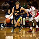 Dylan Hancook | 2012-13 | Clarkston Basketball Poster by alexela