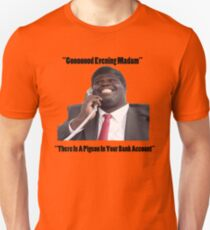 BANK ACCOUNT DETAILS - GEORGE Unisex T-Shirt