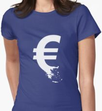 Universal Unbranding - The Greek Collapse Women's Fitted T-Shirt